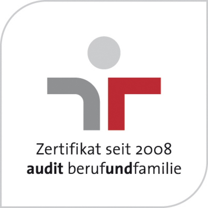 """career and family audit"" - The Helmholtz-Zentrum Geesthacht has been certified since 2008."